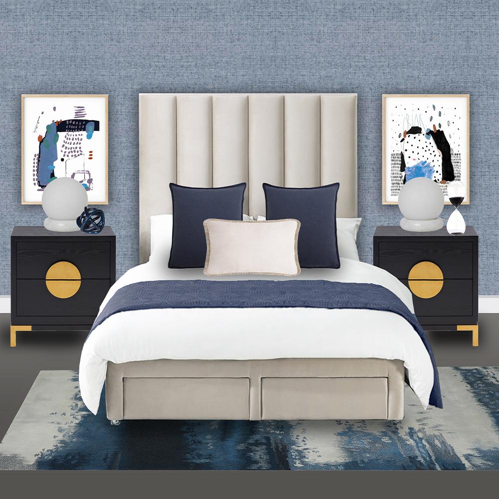 Azure children bedroom