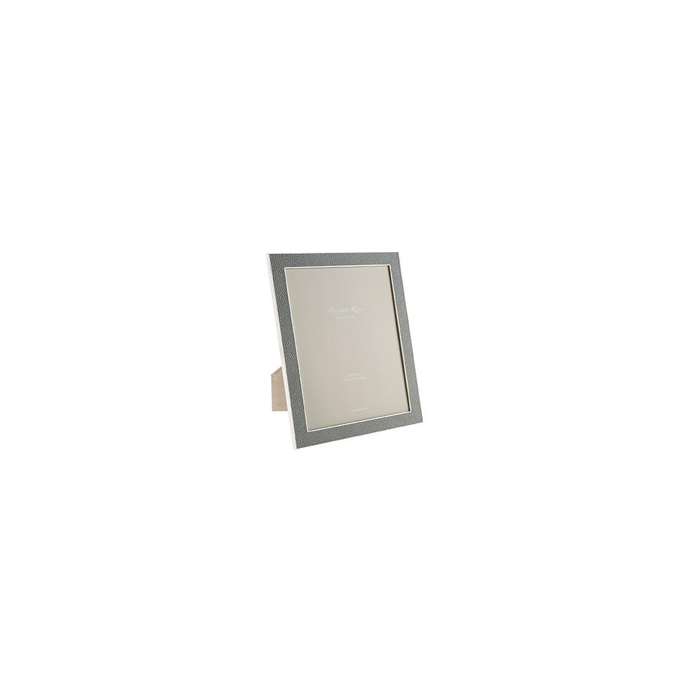 shargreen leather grey photo frame
