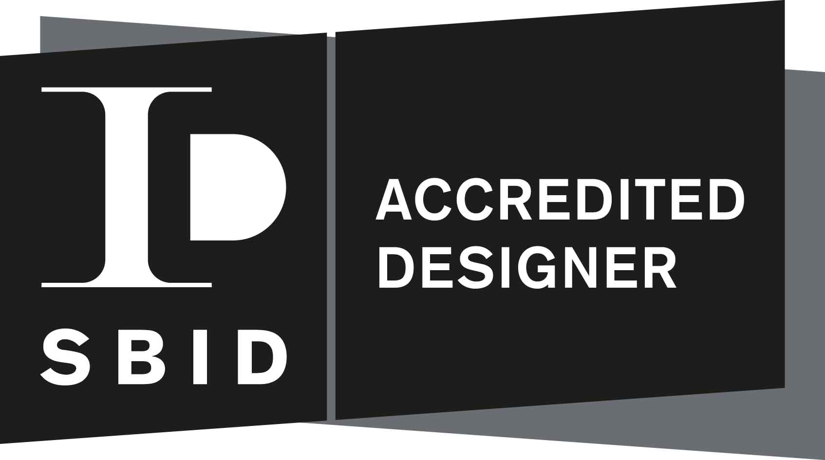 Signature - SBID Accredited Designer Logo Landscape_Black+Grey